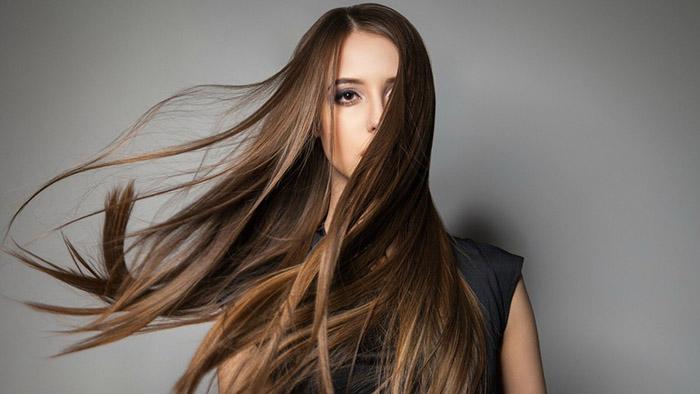 Нормальные волосы