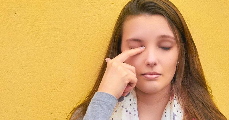Почему глаза краснеют? Маски для глаз